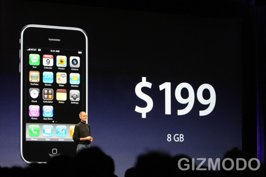 iPhone de 8GB