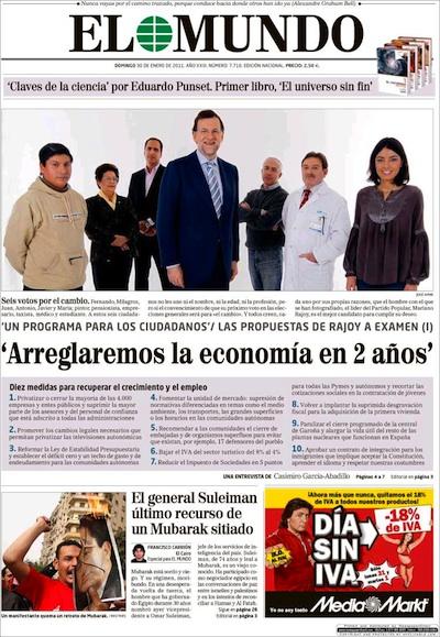 Rajoy y María