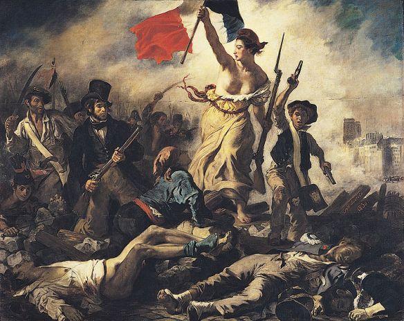 Eugene Delacroix - Liberte guidant le peuple